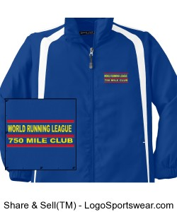 WORLD RUNNING LEAGUE 750 MILE CLUB JACKET Design Zoom